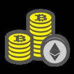 monete bitcoin ethereum