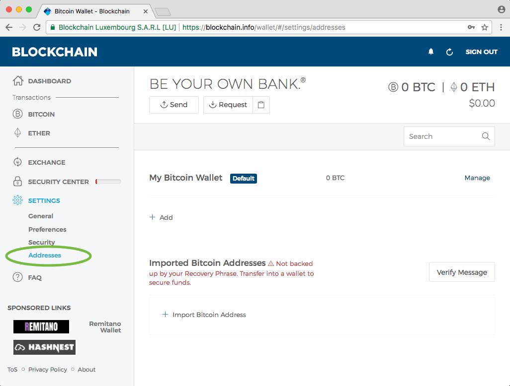 addresses-of-wallet