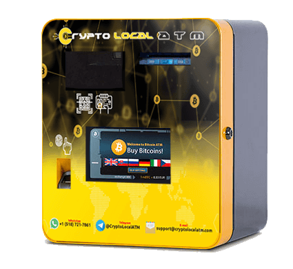 Bitcoin ATM by CryptoLocalATM