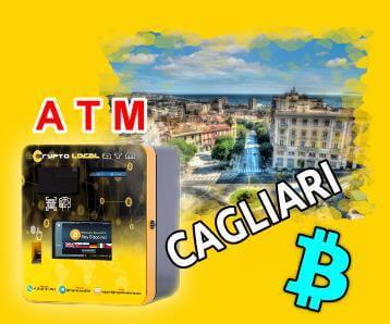 Benvenuto CryptoLocalATM a Cagliari