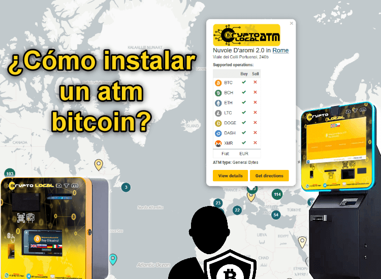 CRYPTOLOCALATM-Cómo instalar un atm bitcoin in spanish europe