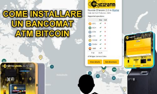 Come installare un bancomat / atm bitcoin?