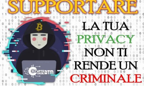 5 motivi per cui supportare la Privacy non ti rende un criminale