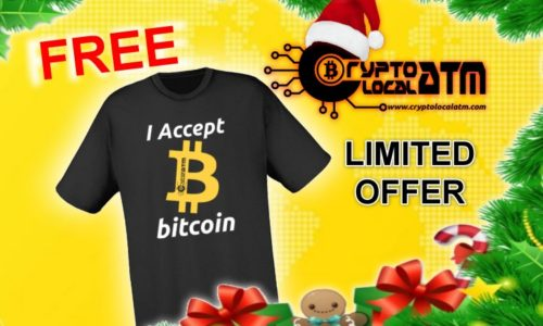 T-SHIRT BITCOIN IN REGALO