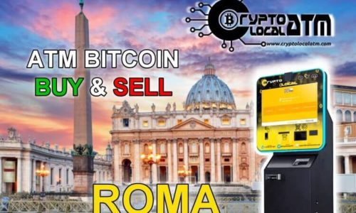 ATM BITCOIN NOW IN ROME LAZIO (AGAIN)
