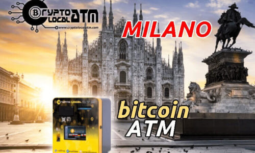 Bitcoin ATM now in Milano