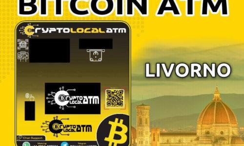 Bitcoin ATM en LIVORNO en TOSCANA