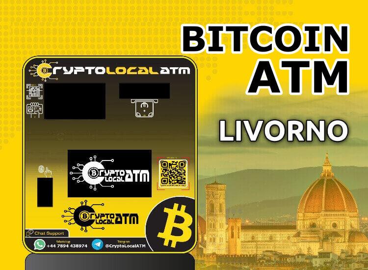 Bitcoin ATM in LIVORNO in TUSCANY