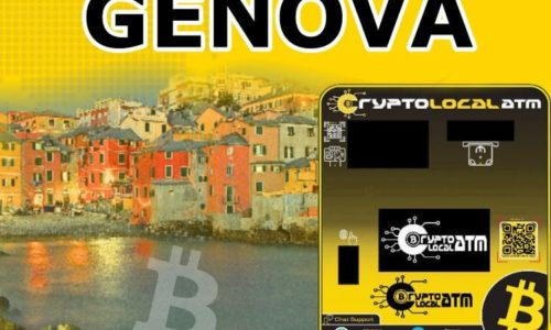 Bitcoin ATM Genova in Liguria