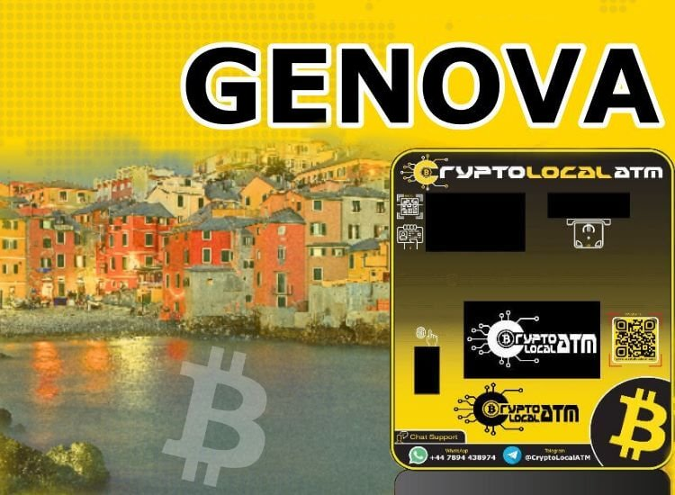 Bitcoin ATM Genoa in Liguria