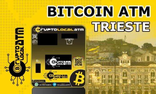 Bitcon ATM in Trieste in Friuli Venezia Giulia