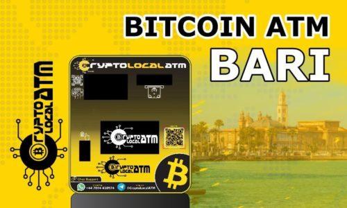 Bitcoin ATM in Bari