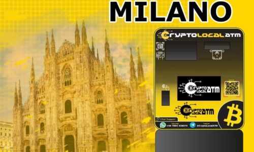 Биткойн банкомат в Милано в Ломбардия