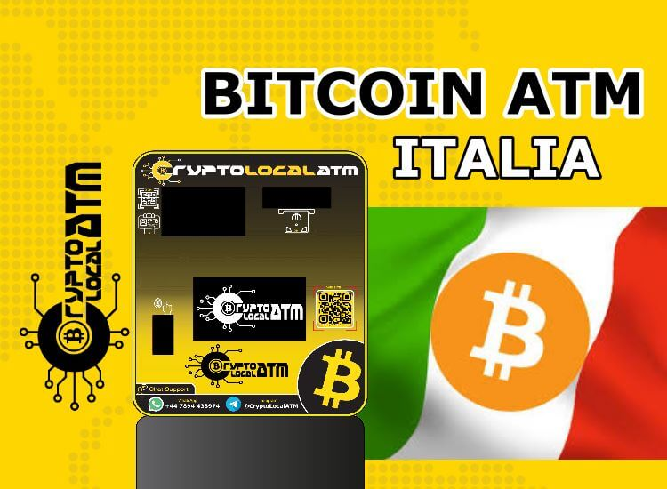 Bitcoin ATM Italy: where they are and how they work 2021