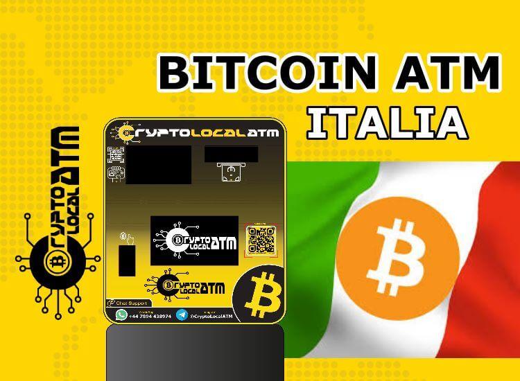 Bitcoin ATM Italia: къде се намират и как работят 2021