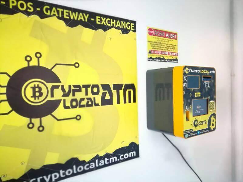 Bitcoin ATM Napoli by CryptoLocalATM