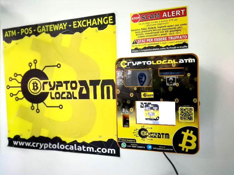 Bitcoin ATM Napples by CryptoLocalATM