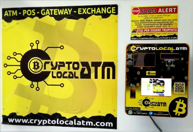bitcoin atm italy naples