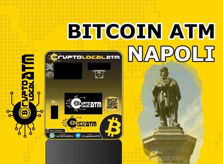 Биткойн банкомат Неапол в Кампания