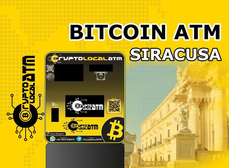 Bitcoin ATM Siracusa