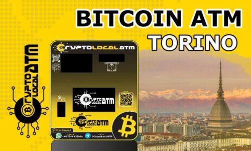 Bitcoin ATM Turín