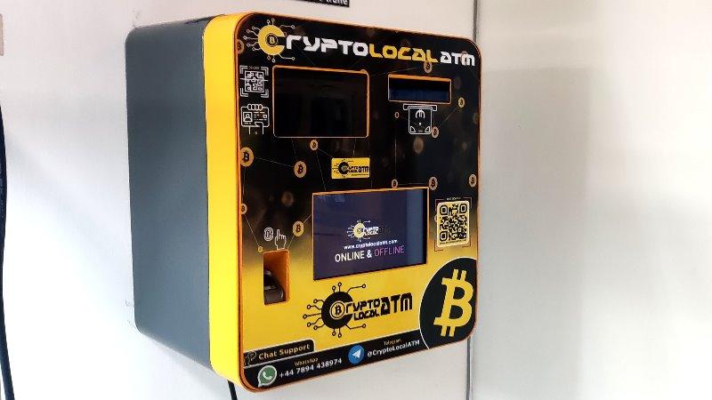 Bitcoin atm ITALIA CryptoLocalATM