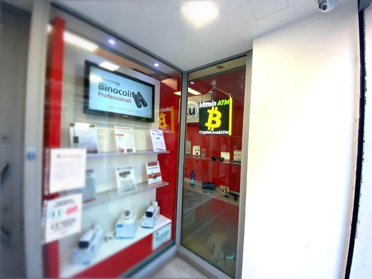 Bitcoin ATM - Bancomat CryptoLocalATM CATANIA