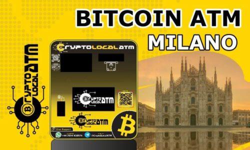 Банкомат за биткойни в Ломбардия в Милано