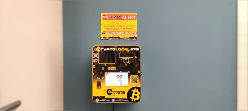 CryptoLocalATM - bitcoin atm italia