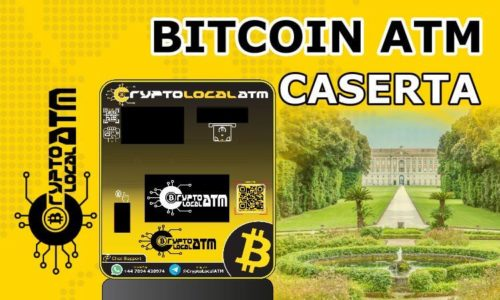 Биткойн банкомат Caserta