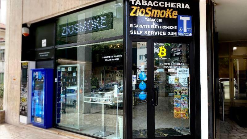 bitcoin atm rovigo ziosmoke veneto