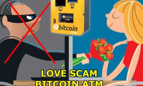 Beware of love scams on atm bitcoin